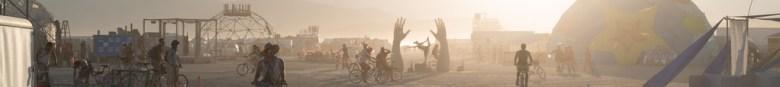 Burning Man festival Streetview
