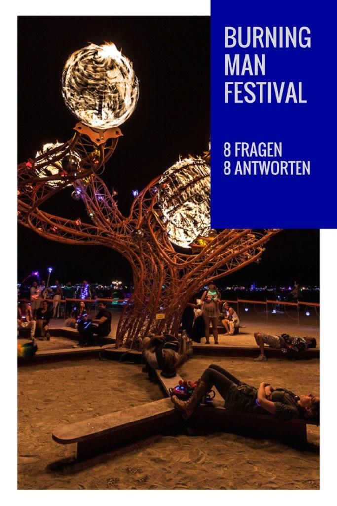 8 Fragen an das Burning Man Festival in Nevada