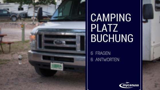 Campingplatz Buchung