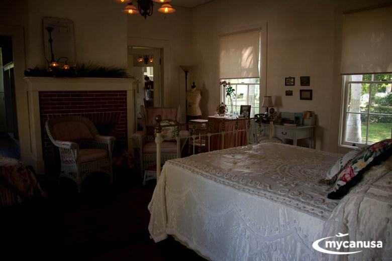 Schlafzimmer im Wohnhaus, Edison Ford Winter Estates