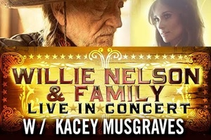 Willie Nelson w/Special Guest Casey Musgraves @ Whitewater Ampitheater | New Braunfels | Texas | United States