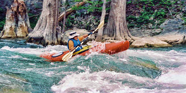 Paddle Past Spectacular Scenery