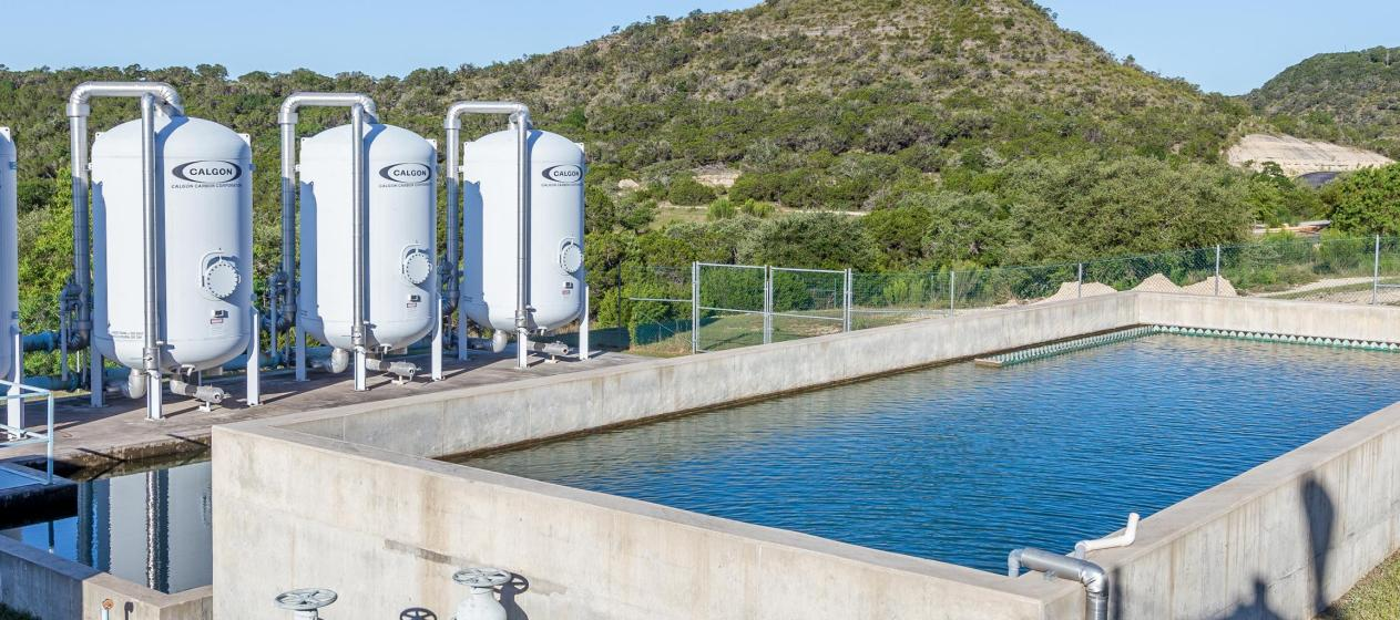 CLWSC water treatment facility