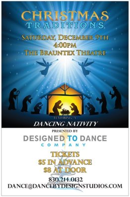 Dancing Nativity @ Brauntex Theatre | New Braunfels | Texas | United States