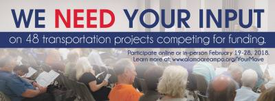 Public Meetings - 48 Transportation Projects Submitted for Funds @ New Braunfels Civic/Convention Center | New Braunfels | Texas | United States