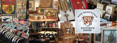 New Braunfels Antique Show @ New Braunfels Civic/Convention Center | New Braunfels | Texas | United States