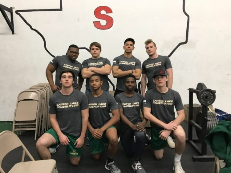 Canyon Lake Hawks Powerlifters