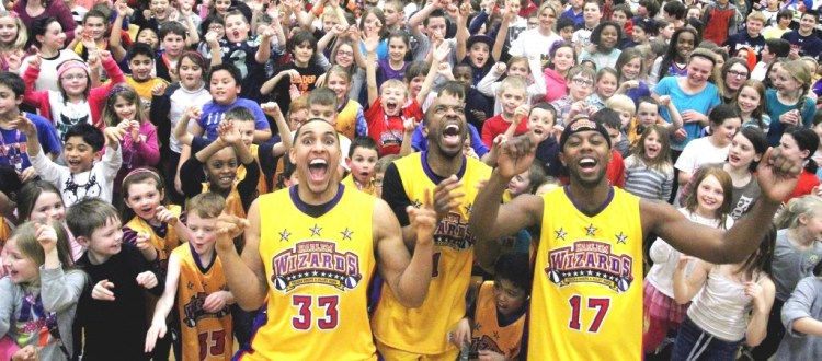 harlem wizards and kids