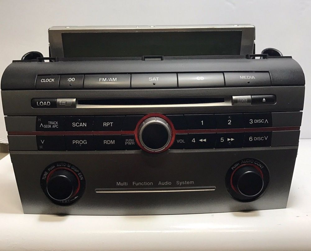 medium resolution of awesome 2007 2009 mazda 3 radio stereo cd player 14793688 2018 2019
