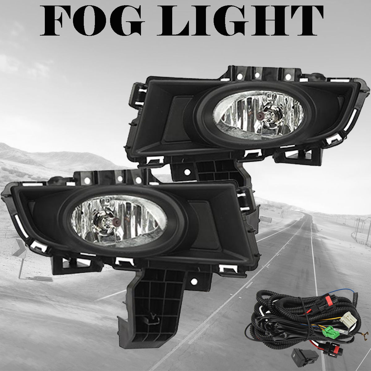 hight resolution of great for 2007 2008 2009 mazda 3 front bumper fog lights driving lamps wiring switch 2018 2019