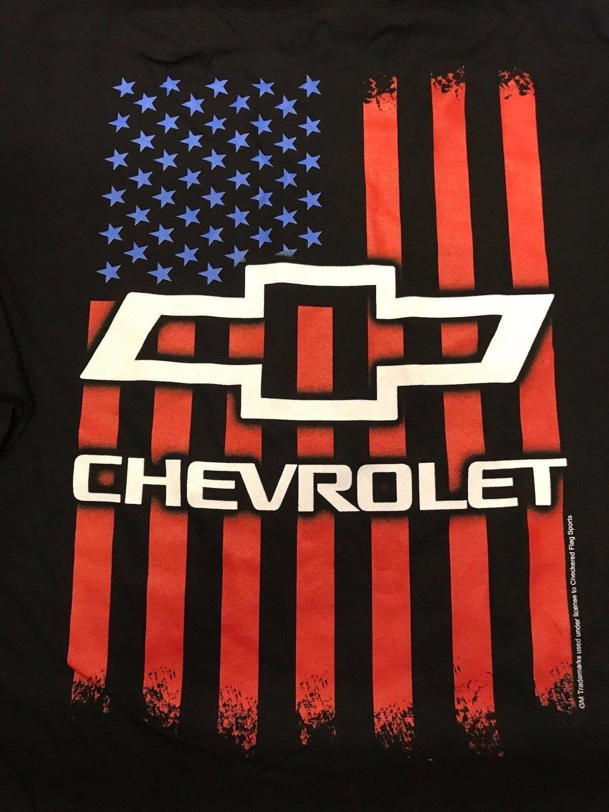 American Flag Chevy Bowtie Emblem