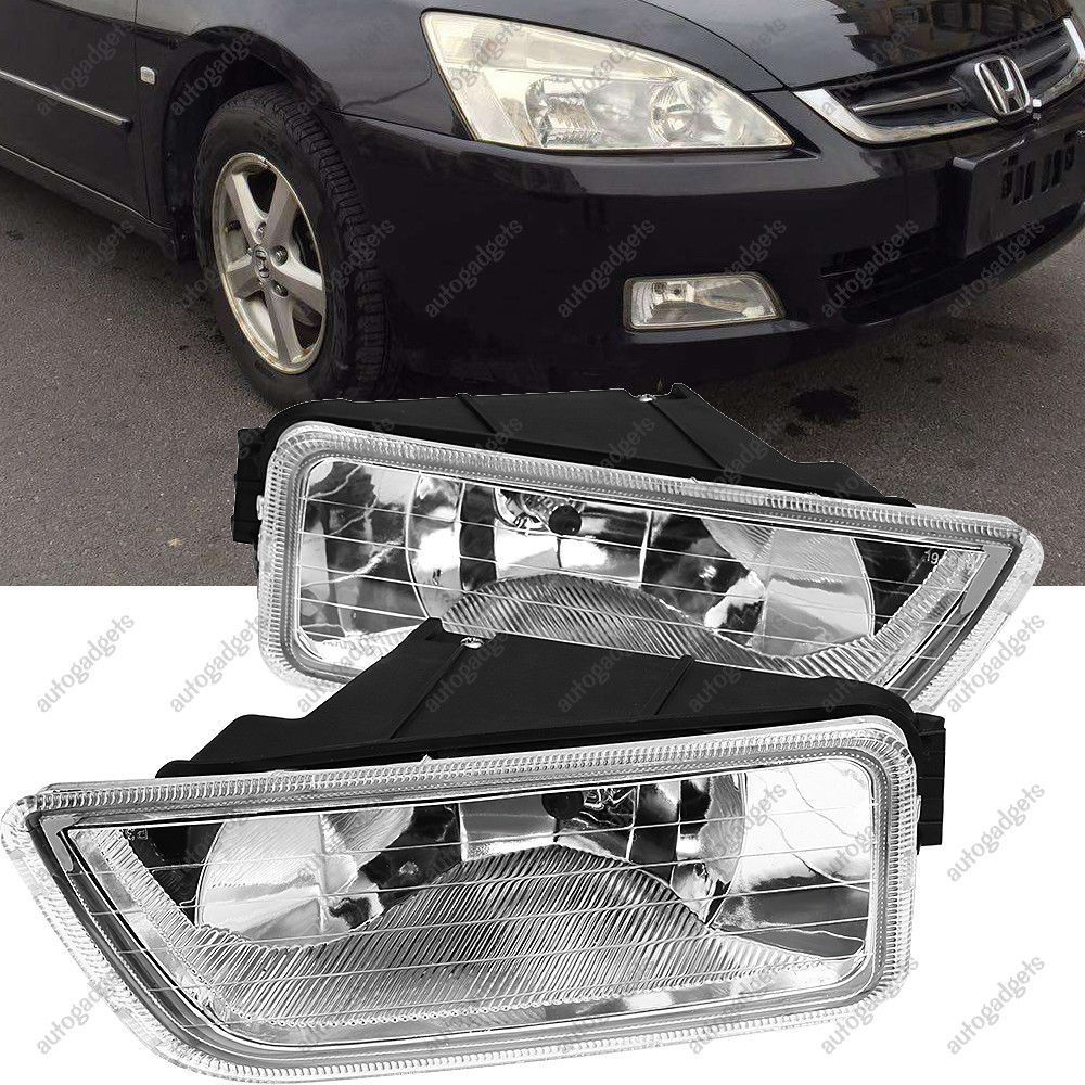 hight resolution of amazing for 2003 2007 honda accord 4dr sedan clear per driving fog lights lh rh pair