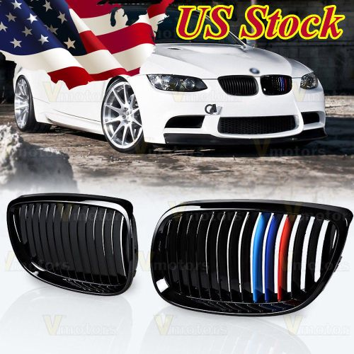 small resolution of amazing glossy black m color kidney grille for bmw 2007 2010 e92 e93 328i 335i 2 door 2018