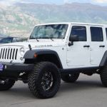 Jeep Wrangler Unlimited Rubicon Lifted Jeep Unlimited Rubicon 4x4 Custom Wheels Tires Leather Navigation Auto 2019 Is In Stock And For Sale Mycarboard Com