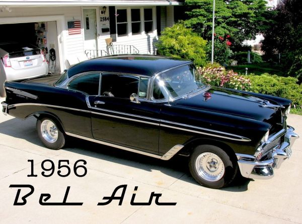 Awesome 1956 Chevrolet Bel Air 150 210 56 Chevy 2dr Hard