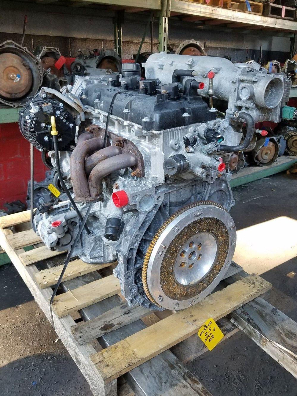 medium resolution of great 2002 2003 2004 2005 2006 nissan altima sentra se r spec v engine jdm qr25 2 5l 2018