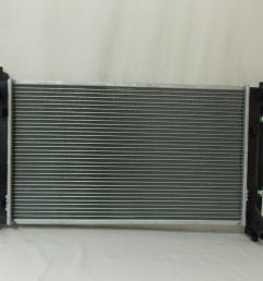 awesome radiator for 2003 2004 2005 2006 2007 2008 toyota corolla 1 8 4cyl 2018 [ 1600 x 1200 Pixel ]
