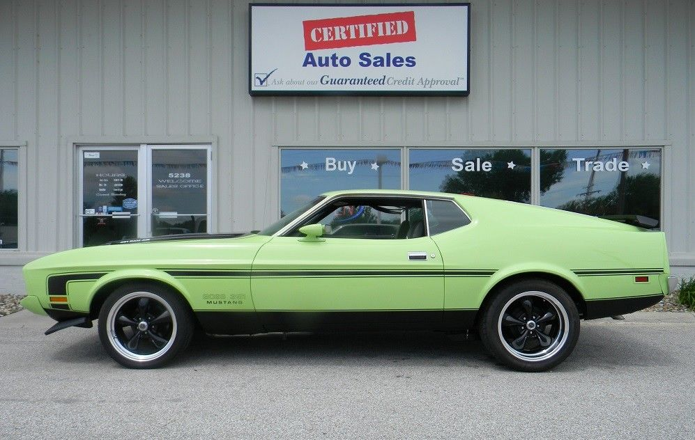 1965 ford mustang coupe show car with 14,000 original miles. Used 1973 Ford Mustang Fastback 1973 Ford Mustang Mach 1 Fastback 2018 Is In Stock And For Sale Mycarboard Com