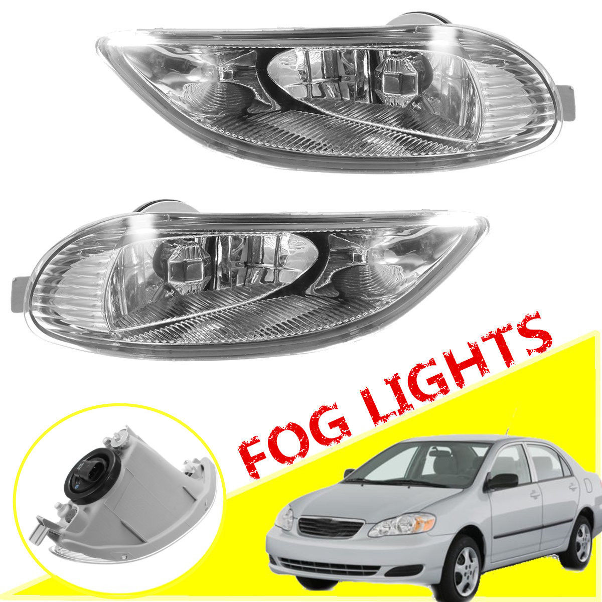 hight resolution of great for 2002 04 toyota camry 2005 2008 corolla bumper fog lights lamps 2018