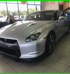 great nissan gt r premium used 09 nissan gtr skyline turbo 3 8l v6 auto awd 4 4 coupe bose silver black 2018 2019 [ 1044 x 788 Pixel ]
