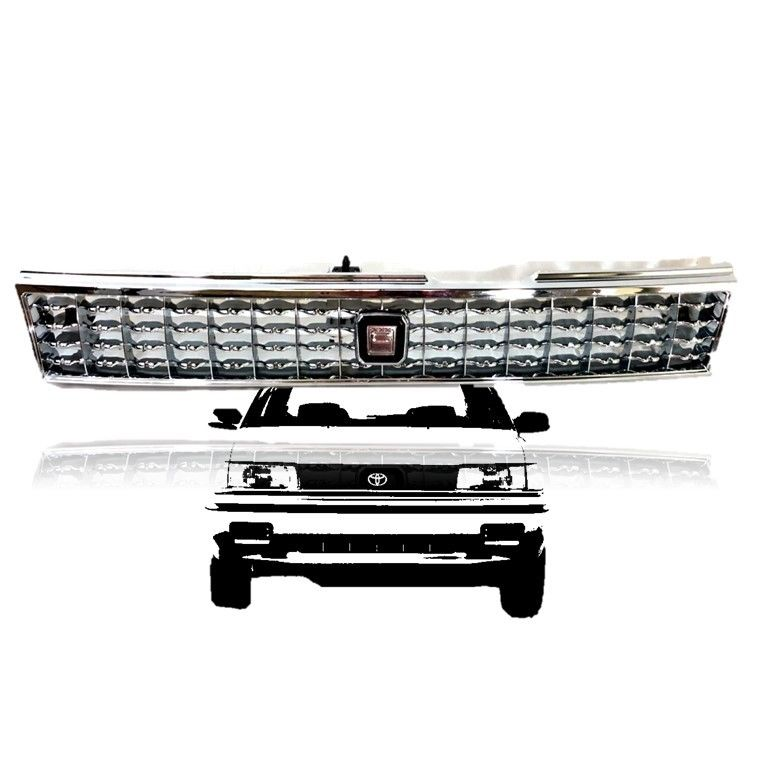 Great 88 92 Toyota Corolla AE90 AE92 93 94 Front Chrome