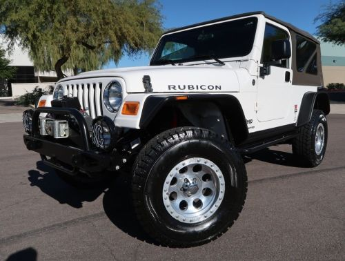 small resolution of amazing 2006 jeep wrangler unlimited rubicon lj rubicon unlimited lj 28k miles white lifted automatic very rare 2004 2005 2007 2018