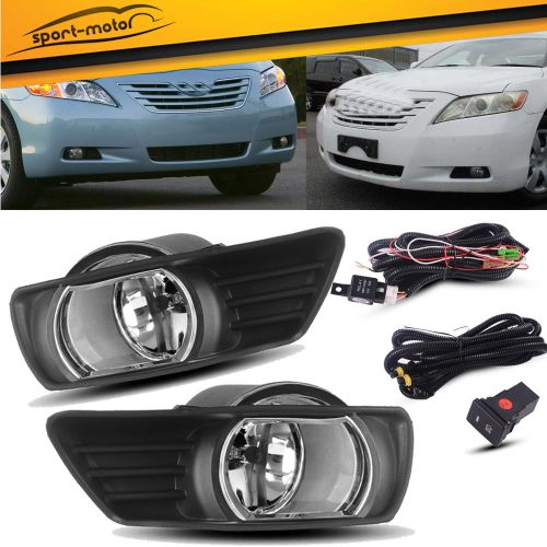 small resolution of amazing for 2007 2008 2009 toyota camry clear bumper fog lights lamps switch wiring pair 2019