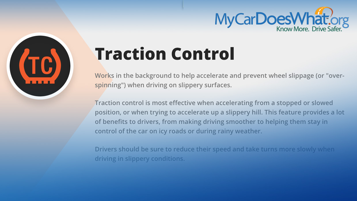 Traction Control System TCS My Car Does What