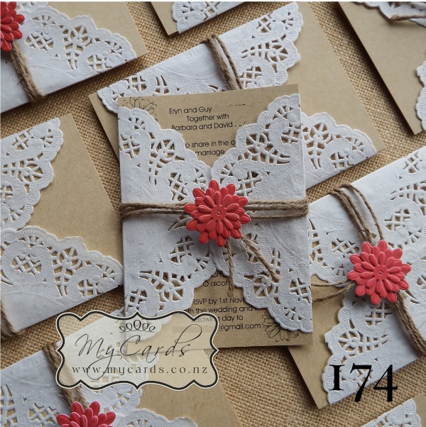 Cheap Rustic Invitations