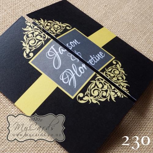 Images of Gatefold Wedding Invitations - Weddings Center
