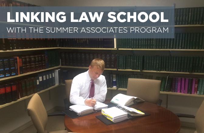 Legal Summer Associate Cover Letter