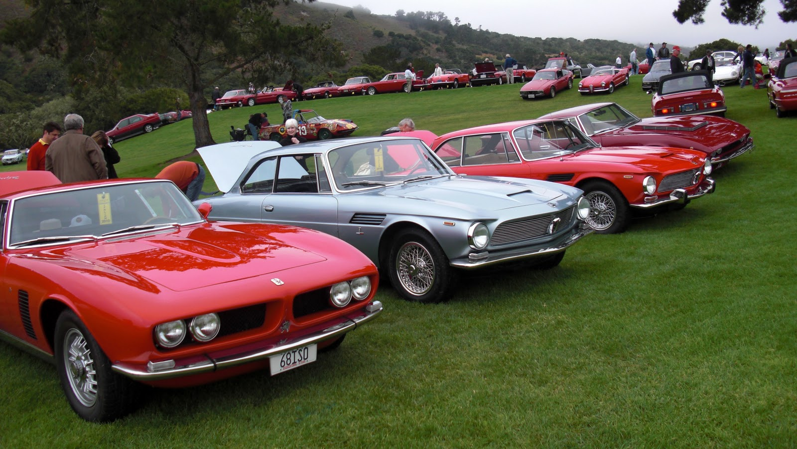 The 50th Anniversary Of The Iso Rivolta Gt