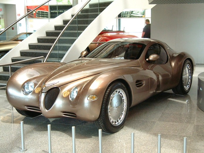 "the 1995 chrysler atlantic concept car- or ""atlantique"" (as i prefer"
