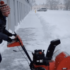 Great prices on snow blowers.