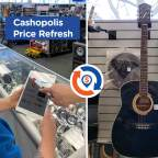 This just in: Another Cashopolis Price Refresh.