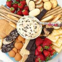Chocolate Chip Mascarpone Dip