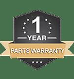 1 yr warranty logo