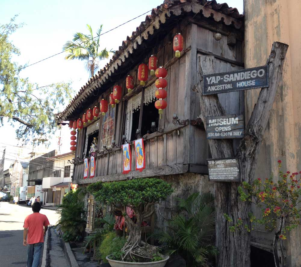 The Yap-Sandiego Ancestral Home holds the distinction of being one of the oldest houses in the Philippines and possibly the oldest Chinese home outside of China. (PHOTO BY MAX LIMPAG)