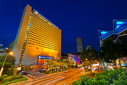 Marina Mandarin Singapore (above) is among the best places to stay in Singapore. With its inventory of 53,895 rooms, Singapore has accommodations for every visitor with rates ranging from P1,925 to P5,500 for budget hotel and P6,050 to P13,200 for luxury suites. Click on photo to enlarge. (Photo from Marina Mandarin Singapore website)