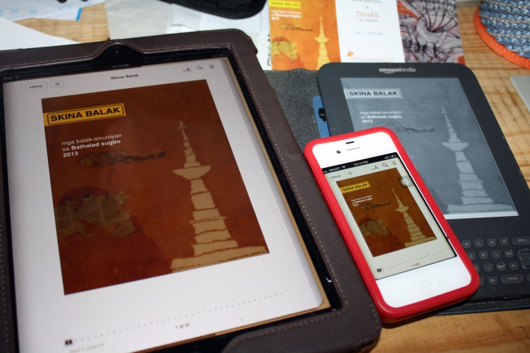 Skina Balak is an e-book compilation of Bisaya poetry for smartphones, tablets and e-readers.