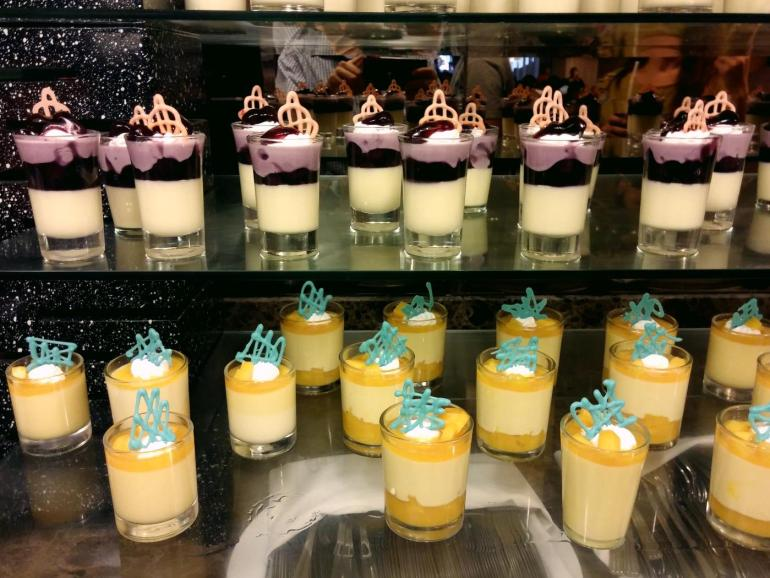 Grand Majestic buffet desserts