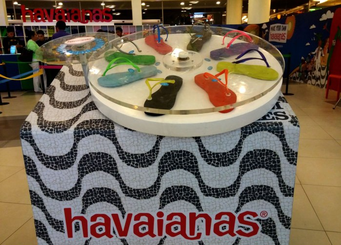 Make Your Own Havaianas 2014 Cebu