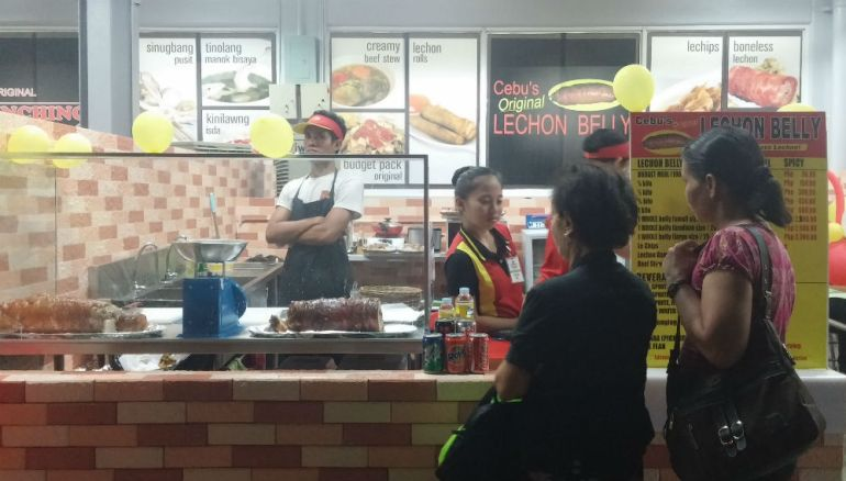 The Cebu Lechon Belly branch in SM Hypermarket Cebu is one of 30 operating nationwide.