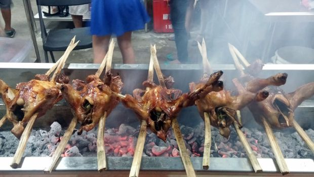 Conching's specialty, which is the roasted native chicken, sells for P280.