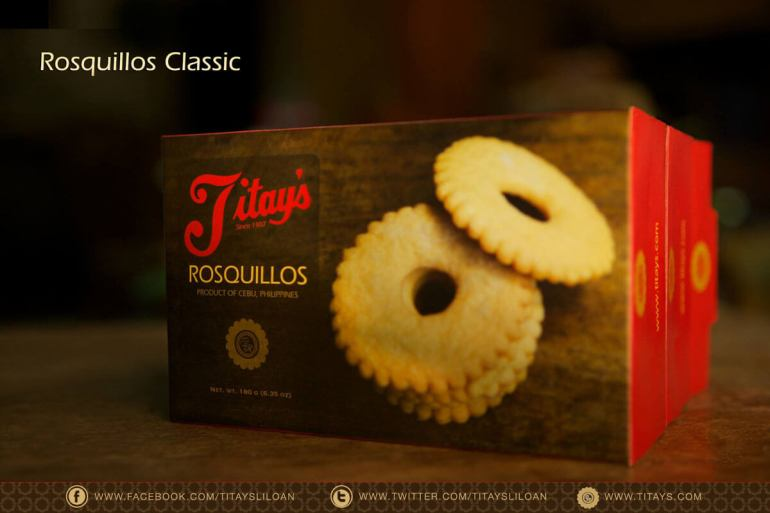 IT HAS TO BE TITAY'S. If you want to buy rosquillos, make sure you pick Titay's. (Photo taken from Titay's Facebook Page)