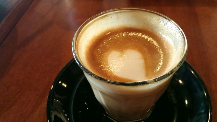 Piccolo Latte. Yolk sources its beans from the Dutch Colony Coffee Co. in Singapore