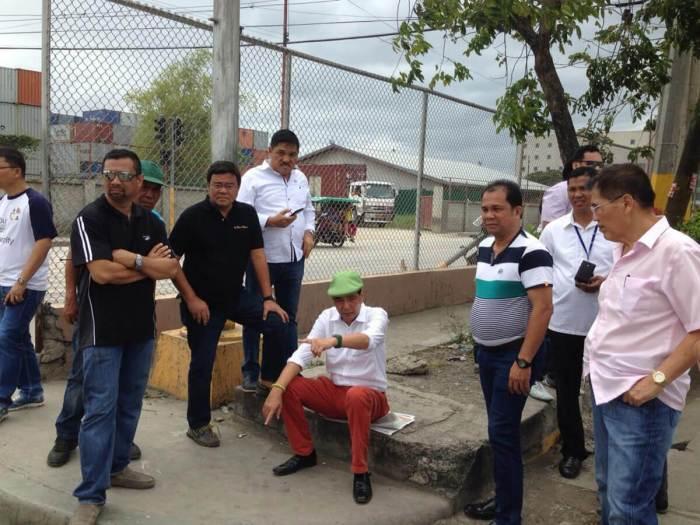 Mayor Rama S. Osmena inspection