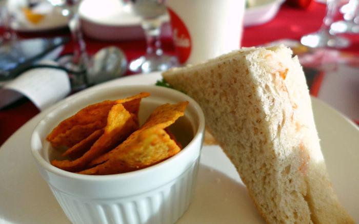 AirAsia sandwich combo