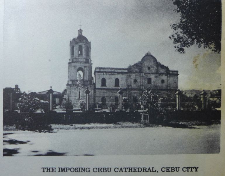 The cathedral in 1962.