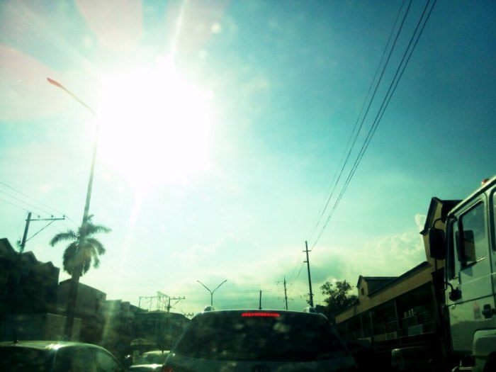 Hottest day in Cebu